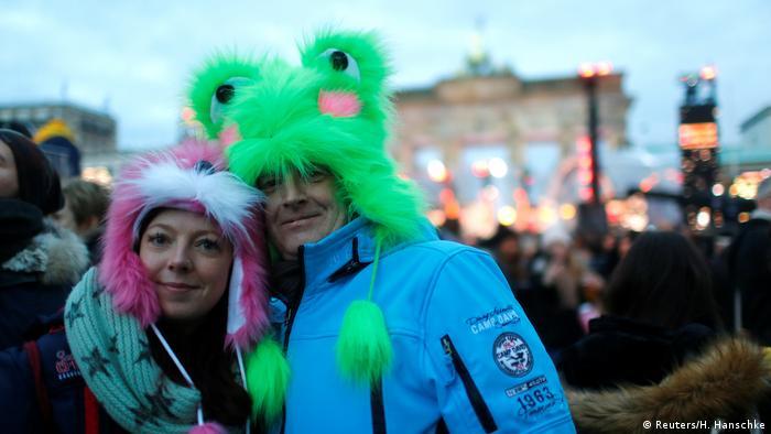Berlin Silvesterfeier (Reuters/H. Hanschke)
