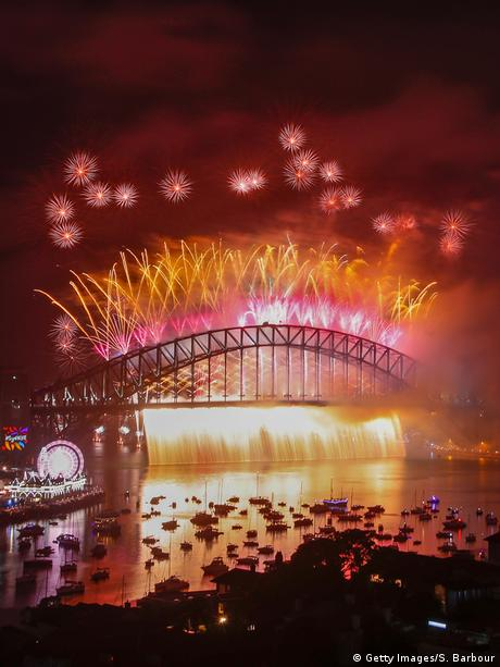 Silvester & Neujahr 2018 | Australien - Sydney (Getty Images/S. Barbour)