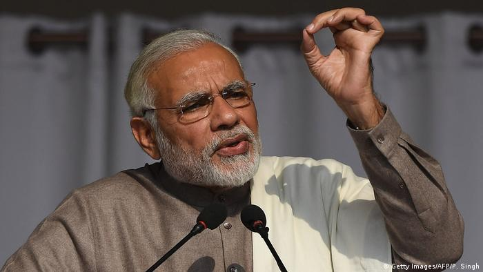 Indian Prime Minister Narendra Modi (Getty Images/AFP/P. Singh)