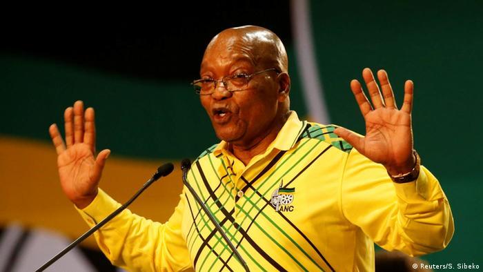 Südafrika Präsdient Jacob Zuma (Reuters/S. Sibeko)