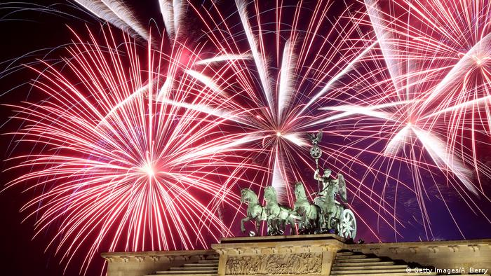 Silvester 2018 in Berlin (Getty Images)