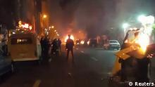 30.12.2017 +++ People protest in Tehran, Iran December 30, 2017 in this still image from a video obtained by REUTERS. THIS IMAGE HAS BEEN SUPPLIED BY A THIRD PARTY.