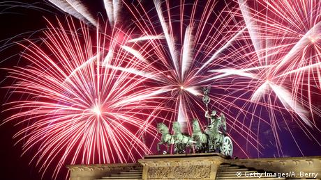 Silvester 2018 in Berlin (Getty Images/A. Berry)