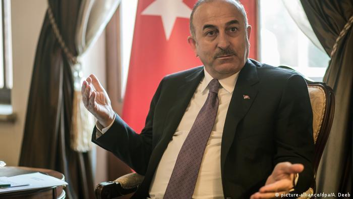 Türkei Außenminister Mevlut Cavusoglu