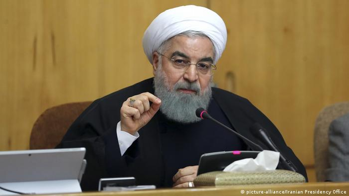 Hassan Rohani (picture-alliance/Iranian Presidency Office)