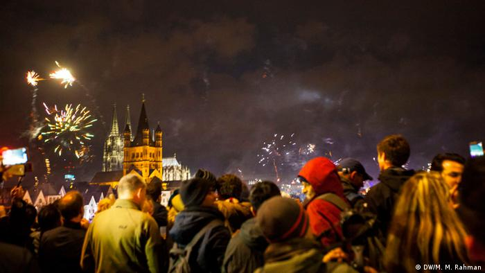 New Year Celebration Cologne Germany (DW/M. M. Rahman)