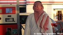 Saudi Arabien   Tankstelle in Jeddah