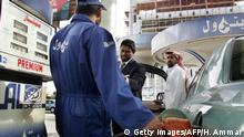 Saudi Arabien | Tankstelle in Riad