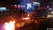 Iran Protest in Teheran