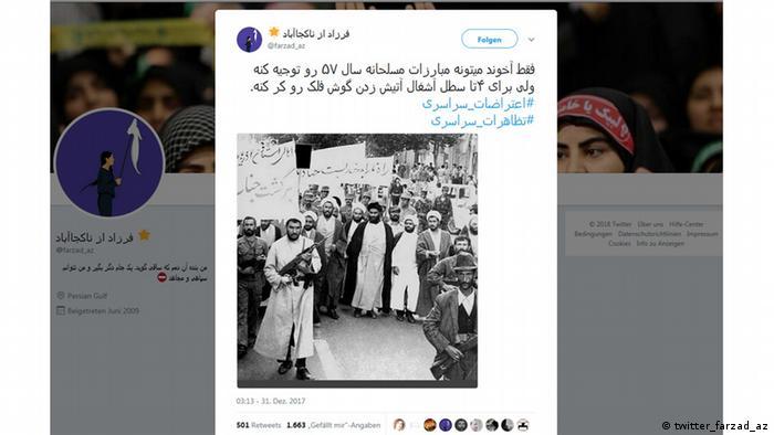 Iran Protest (twitter_farzad_az)