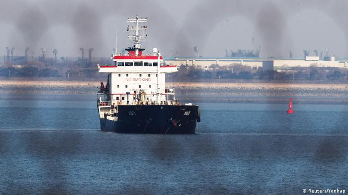 Südkorea Koti - Schiff - Verdacht auf Öl-Schmuggel nach Nordkorea
