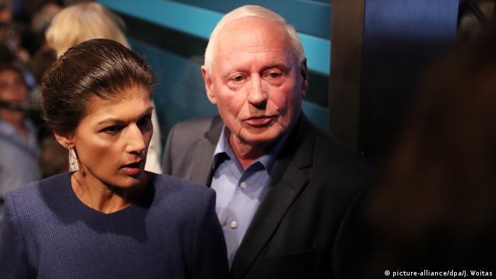 Sarah Wagenknecht & Oskar Lafontaine, Die Linke