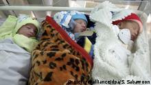 Afghanistan Neugeborene in Kabul