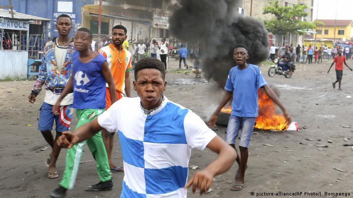 Protestos em Kinshasa a 31 de dezembro de 2017