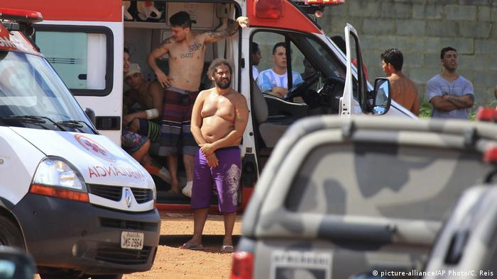 people and prison system of brazil