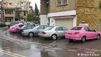 Rosa Taxis in Beirut