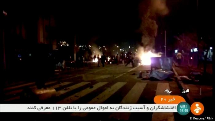 Iran Proteste | Tuyserkan (Reuters/IRINN)