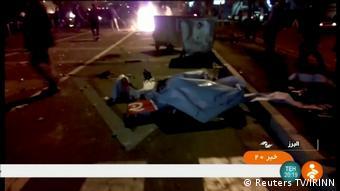 Iran Proteste | Tuyserkan (Reuters TV/IRINN)