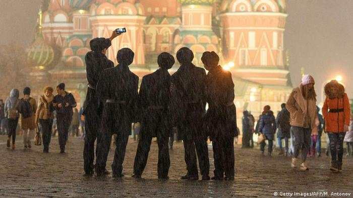 A Praça Vermelha de Moscou, um dos pontos turísticos mais da capital