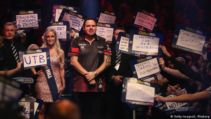 William Hill PDC World Darts Championships 2018 | Adrian Lewis, England (Getty Images/L. Rheborg)
