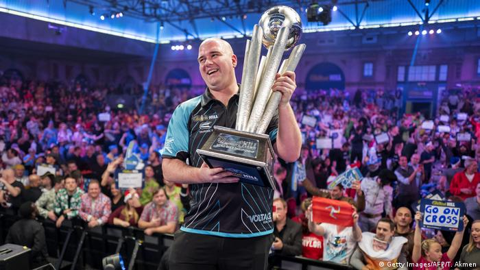 William Hill PDC World Darts Championships 2018 | Rob Cross, Sieger (Getty Images/AFP/T. Akmen)