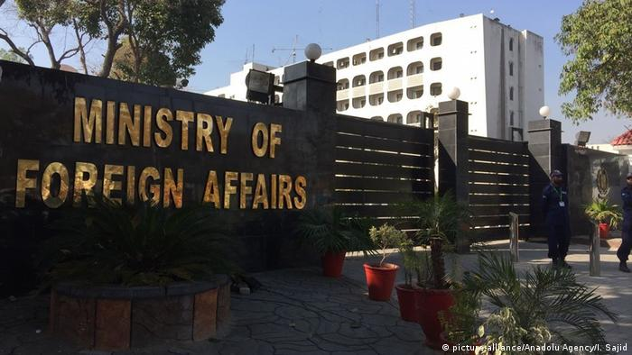 Pakistan's foreign ministry building