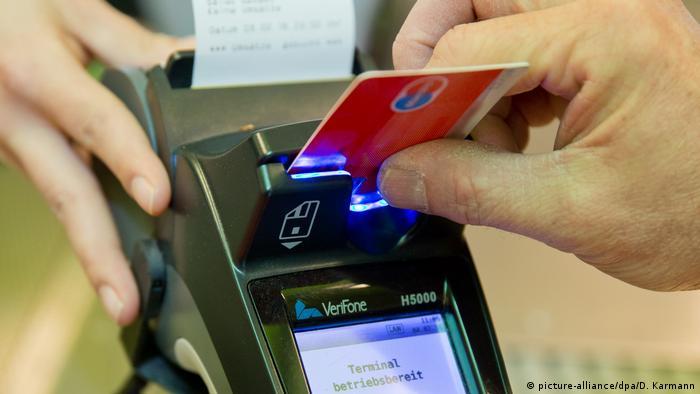 Deutschland - Kartenzahlung - Supermakrt