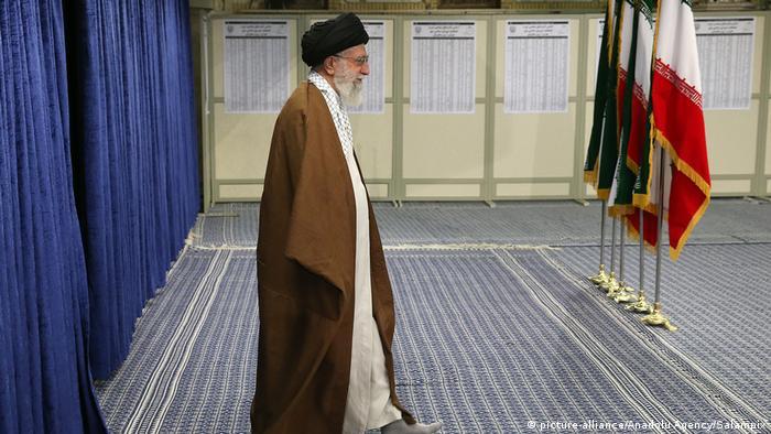 Iran's supreme leader, Ayatollah Khamenei (picture-alliance/Anadolu Agency/Salampix)