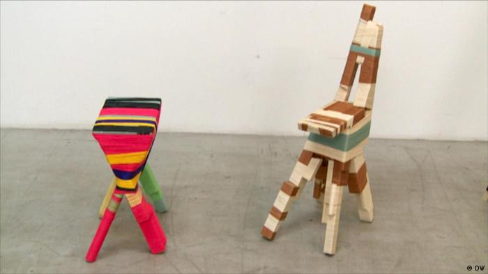 two colorful chairs (DW)