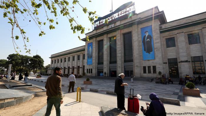 Iran train station