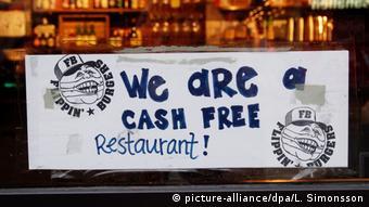 Εστιατόριο της Στοκχόλμης που δέχεται μόνο ηλεκτρονικό χρήμα