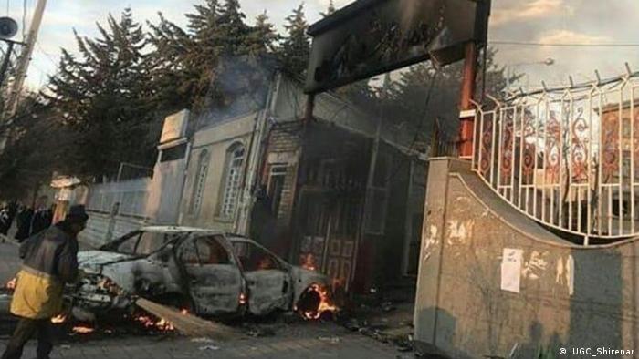 Proteste im Iran ( UGC_Shirenar)