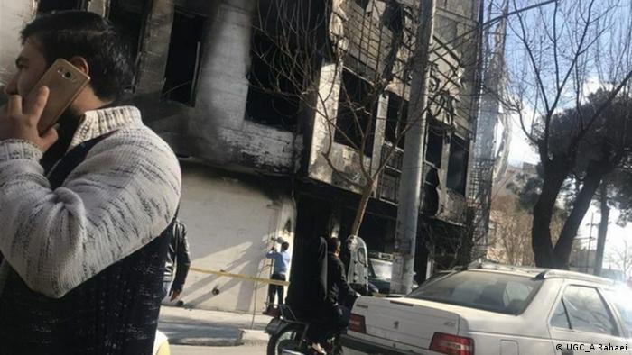 Proteste im Iran (UGC_A.Rahaei)