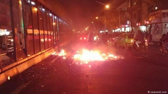 Proteste im Iran (sarpoosh.com)