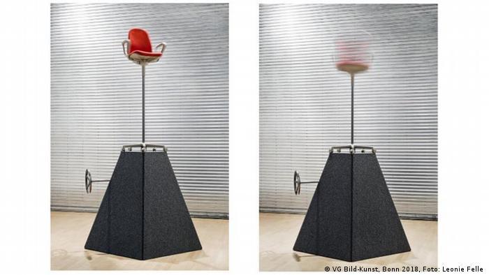 Beate Engl's Burnout Machine (VG Bild-Kunst, Bonn 2018, Foto: Leonie Felle )