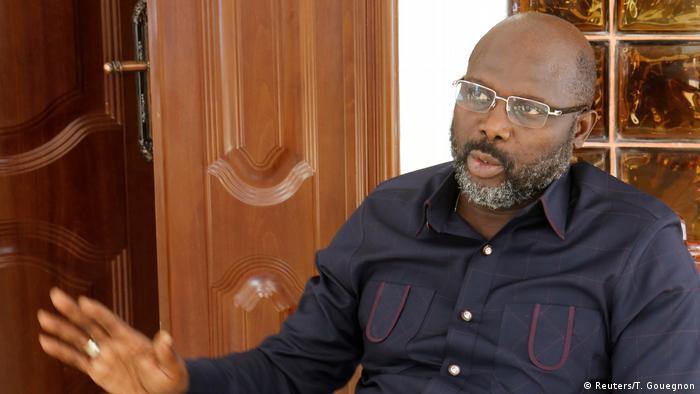 Liberia Monrovia George Weah