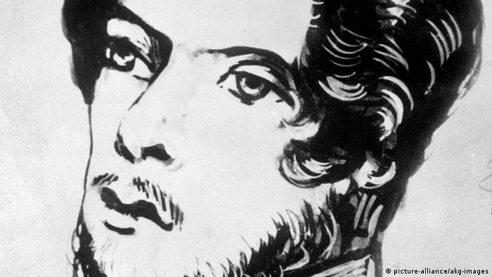 Karl Marx als Student 1836 (picture-alliance/akg-images)