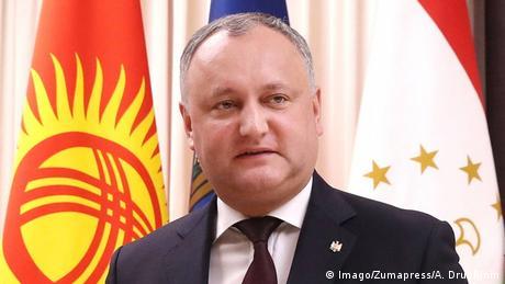 Президент Молдови Ігор Додон потрапив у аварію