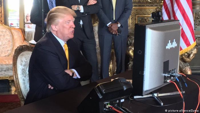 Mar-a-Lago Trump Video Konferenz