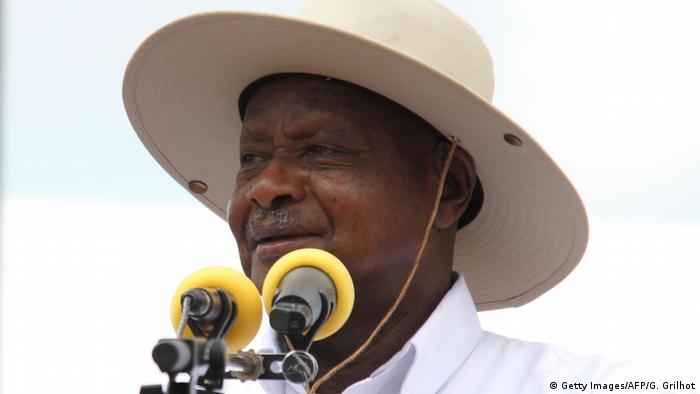 Ugandan President Yoweri Museveni (Getty Images/AFP/G. Grilhot)