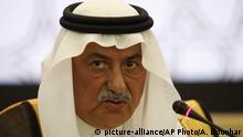 Saudi-Arabien Finanzminister Ibrahim Abdulaziz Al-Assaf