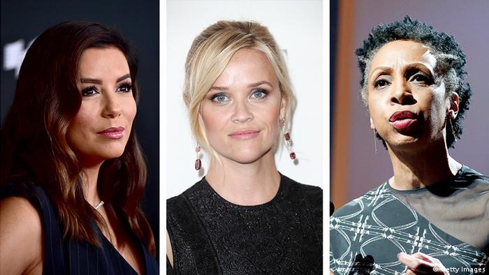 Eva Longoria, Reese Whiterspoon e Nina L. Shaw
