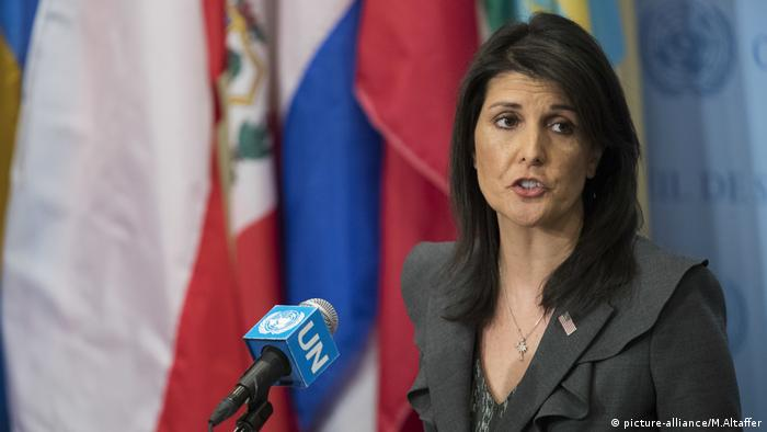 Nikki Haley (picture-alliance/M.Altaffer)