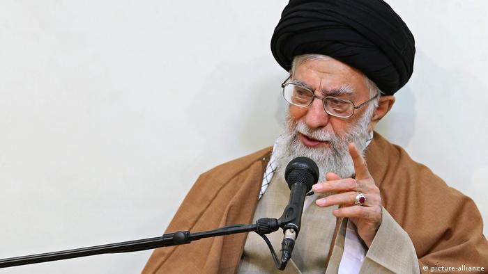 Iran, Tehran, Ayatollah Ali Khamanei