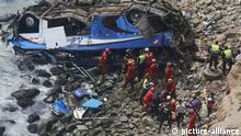 Peru, Bus Unfall