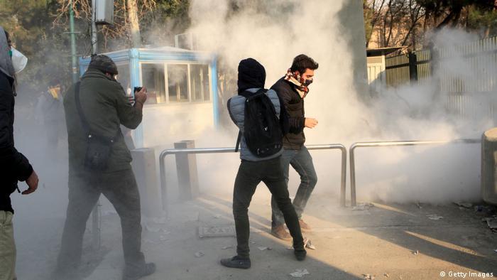 Iran, Teheran, Protest