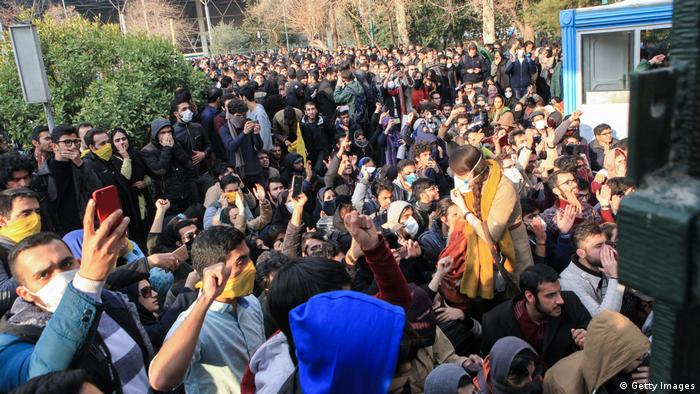 Iran, Teheran, Protest (Getty Images)