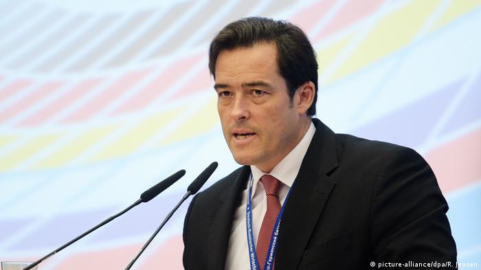 Alman Ticaret ve Sanayi Odaları Birliği (DIHK) Dış Ekonomik İlişkiler Başkanı Volker Treier