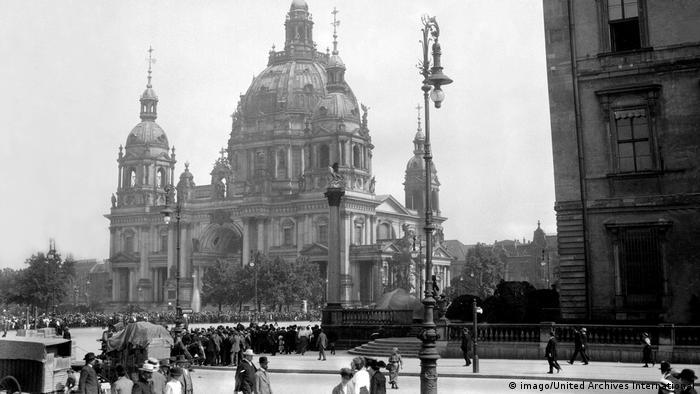 Catedral de Berlim em 1920
