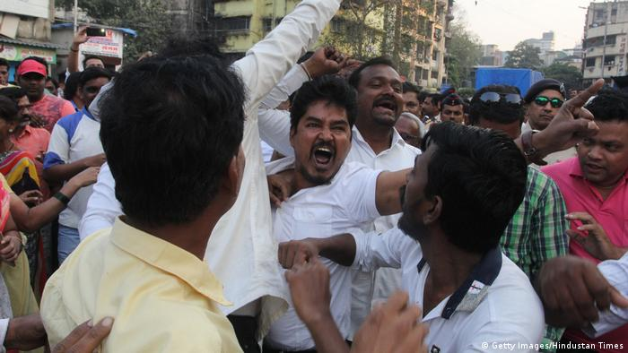 Dalits protest in India